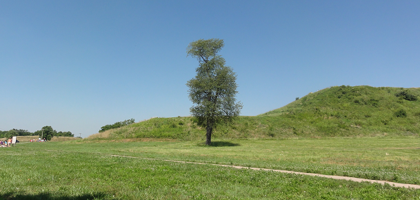 Monks Mound at Cahokia Mounds State Historic Site
